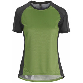 assos Trail Bike Jersey Shortsleeve Women green/black